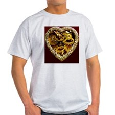 steampunk clockwork heart iphone cas T-Shirt