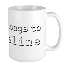 My Heart Belongs To Evangeline Mug