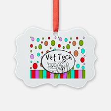 Vet Tech Tote 2 Ornament