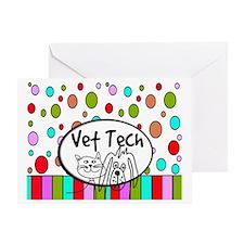 Vet Tech Tote 2 Greeting Card