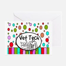 Vet Tech Tote 2 Greeting Card