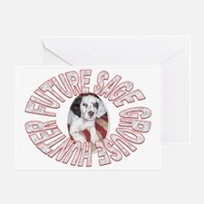 FUTURE SAGE GROUSE HUNTER Greeting Card