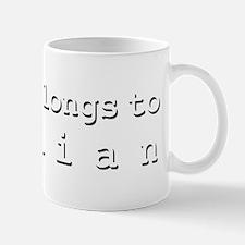 My Heart Belongs To Gillian Mug