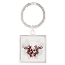drs_60_curtains_834_H_F Square Keychain