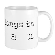 My Heart Belongs To Hiram Mug