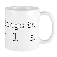 My Heart Belongs To Perla Mug