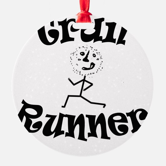 Trail Runner Stick Person Ornament