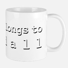 My Heart Belongs To Randall Mug