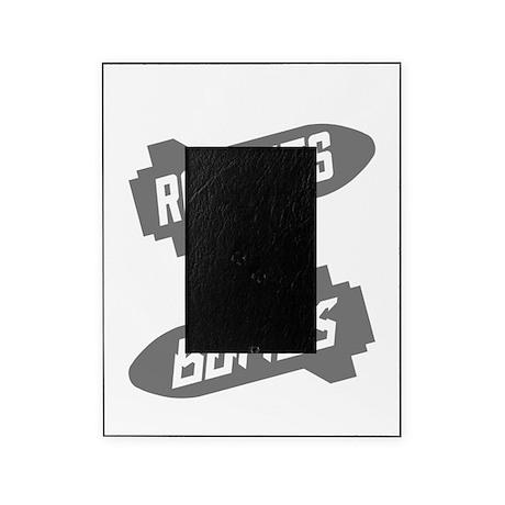 Black Rockets Not Bombs Shirt Art Picture Frame