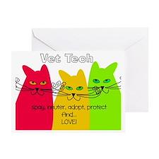 Veterinary Tech Greeting Card