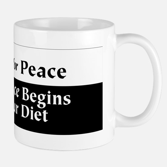 Vegan for Peace Mug