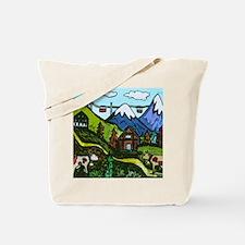Swiss Cow Fun Tote Bag