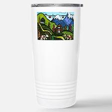 Swiss Cow Fun Travel Mug