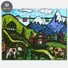 Swiss Cow Fun Puzzle