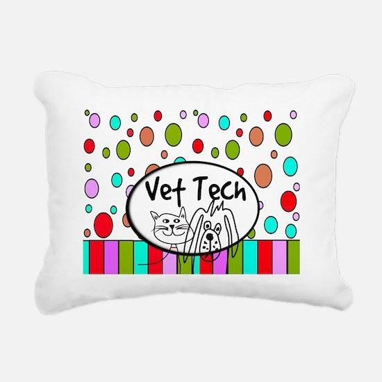 Vet Tech Tote 2 Rectangular Canvas Pillow