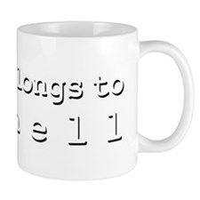 My Heart Belongs To Rochell Mug