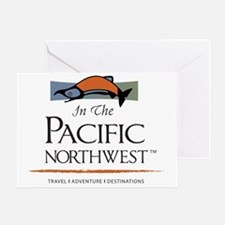 In The Pacific Northwest Logo Large  Greeting Card