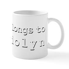 My Heart Belongs To Gwendolyn Mug