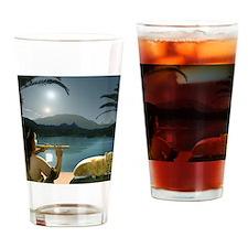 ParallelNileCharmerMousepad Drinking Glass