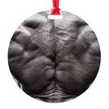 BODYBUILDING BACK Ornament