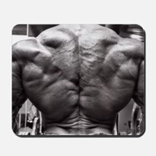 BODYBUILDING BACK Mousepad