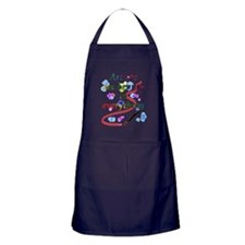 Artists See Beauty Apron (dark)