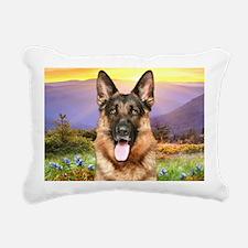 meadow(carmag) Rectangular Canvas Pillow
