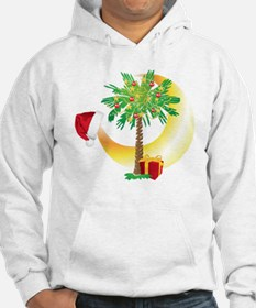 Christmas SC Palmetto Moon Flag Hoodie