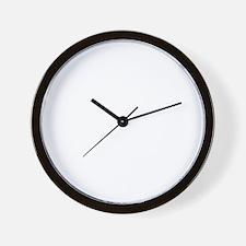 fired Wall Clock
