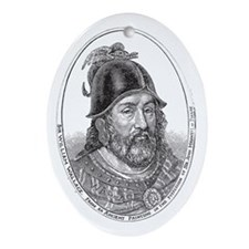 Sir William Wallace, Guardian of Sco Oval Ornament