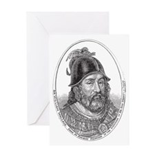 Sir William Wallace, Guardian of Sco Greeting Card