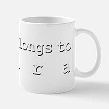 My Heart Belongs To Shira Mug