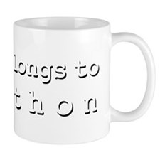 My Heart Belongs To Jonathon Mug