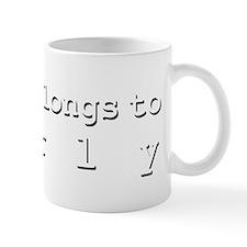 My Heart Belongs To Karly Mug