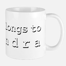 My Heart Belongs To Kasandra Mug