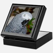 Profile of a Grey Keepsake Box