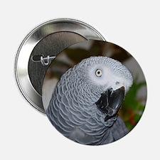"Profile of a Grey 2.25"" Button"