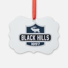 Black Hills Nature Badge Ornament