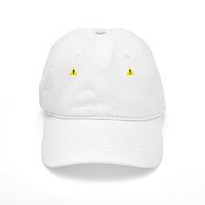 BIOHACKD - Warning! Cognitively Enhanced Indiv Baseball Cap