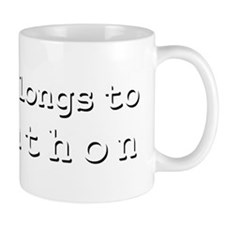My Heart Belongs To Johnathon Mug