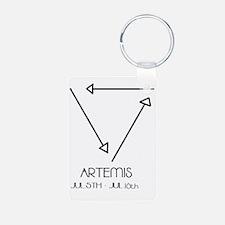 Artemis Asterian astrology Keychains