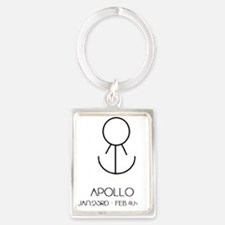 Apollo Asterian astrology Portrait Keychain