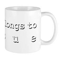 My Heart Belongs To Josue Small Mug