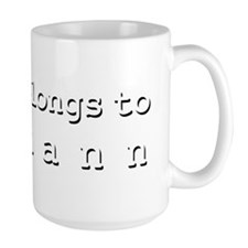 My Heart Belongs To Juliann Mug