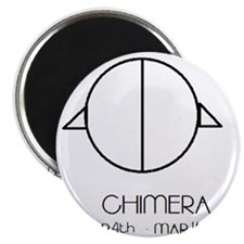 Chimera Asterian astrology Magnet