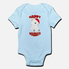 Holiday Polar Bear Body Suit