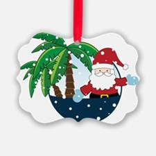 Christmas In Paradise Ornament