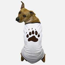 Brown Paw Print png Dog T-Shirt