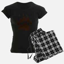 Brown Paw Print png pajamas