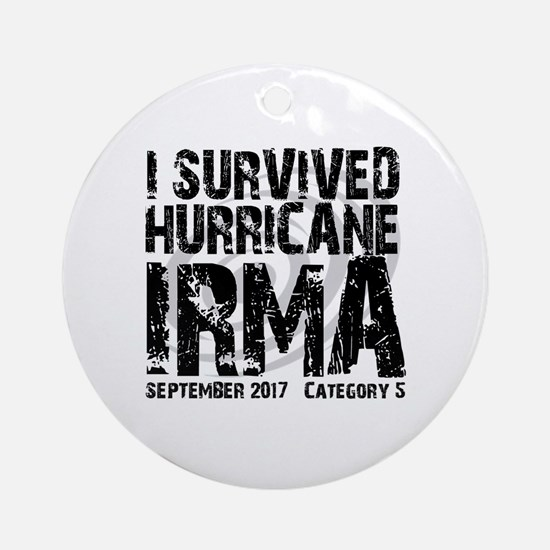 Cool Hurricanes Round Ornament